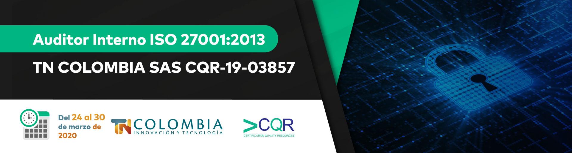Auditor Interno ISO 27001 CQR cotecna