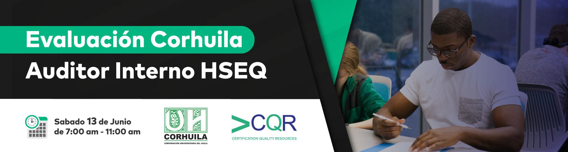 Evaluación Auditores Internos HSEQ Corhuila